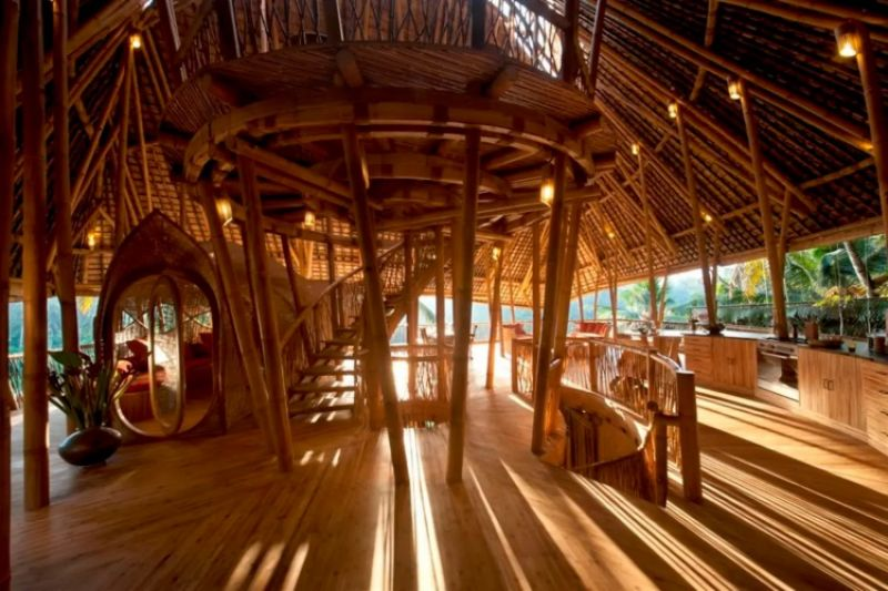 4.Stunning All Bamboo House by River,最少預訂2晚,NT10,726/晚