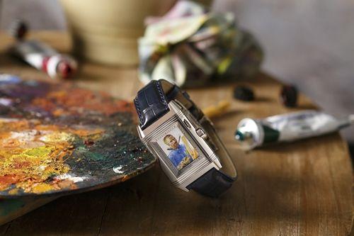 積家全新隱藏式琺瑯彩繪翻轉腕錶梵谷《自畫像》,限量四只