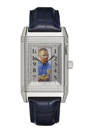 隱藏式琺瑯彩繪翻轉腕錶