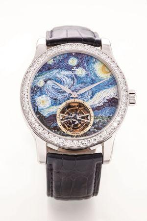 積家 Master Grand Tourbillon Enamel Van Gogh大師系列梵谷星夜陀飛輪琺瑯彩繪腕錶