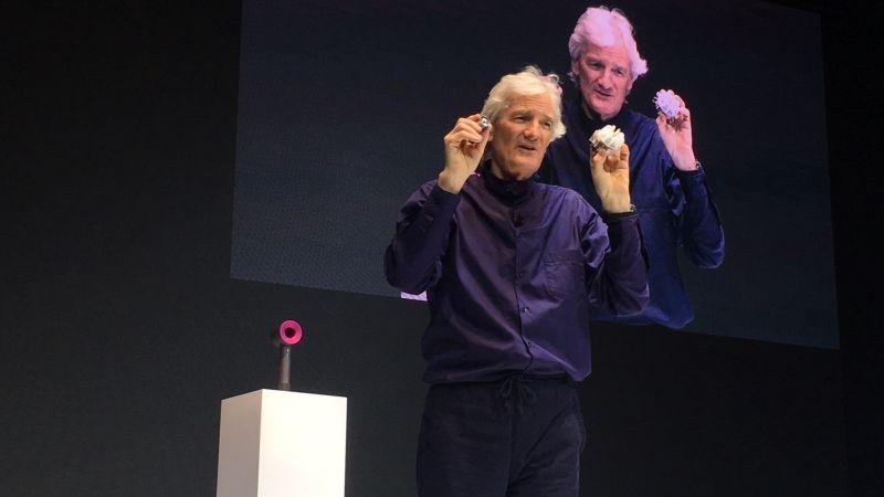 創辦人詹姆斯‧戴森親自到亞洲來發表他個人相當自豪的作品