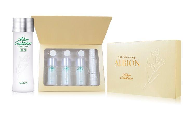ALBION 60週年健康化妝水精選組
