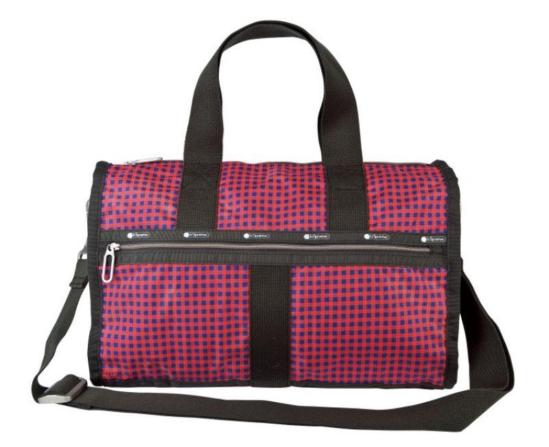 中性細格紋小旅行袋 NT.6,450