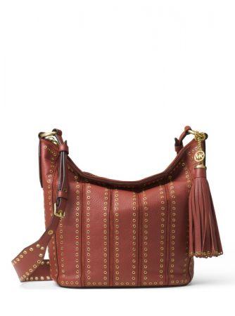 BROOKLYN 磚紅色肩包 NT27600
