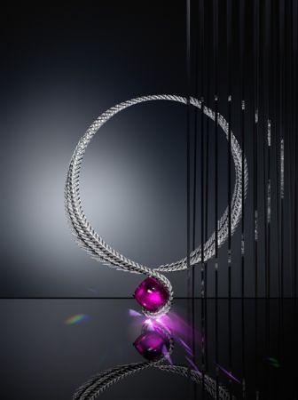 Magicien 系列紅碧璽項鍊,Cartier