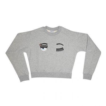 Capsule系列 灰色眉環長袖棉質T-Shirt$9,800