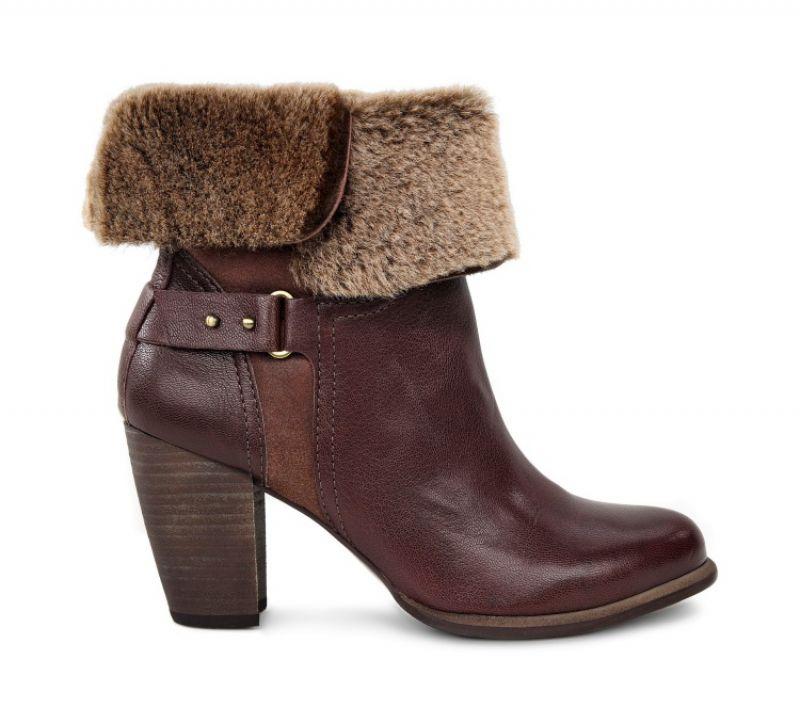 時尚皮靴系列 Jayne 翻摺羊毛短靴 NT$13,800