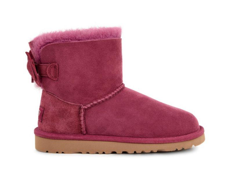 Kandice 幼童雪靴 酒紅色 NT4,800