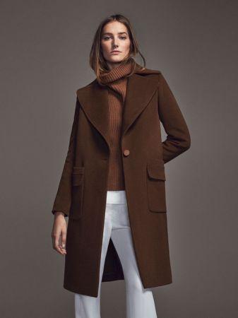 長版駝色大衣 NT16,450