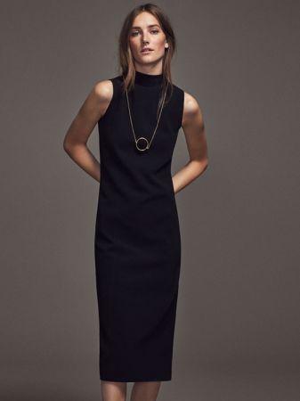 高領連身洋裝 NT2,250