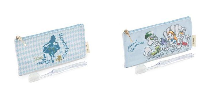 ALICE夢境牙刷盥洗袋(剪影藍&派對),售價 680元