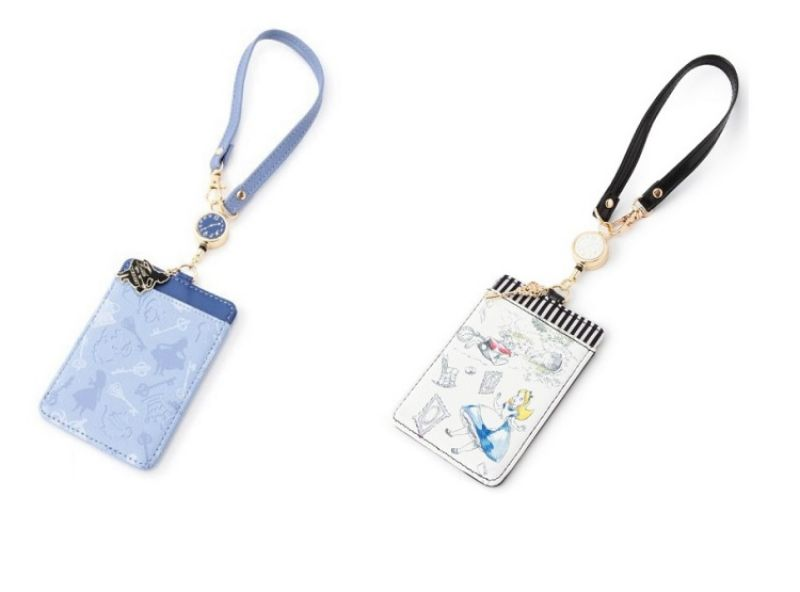 ALICE夢境車票夾(藍色&黑色),售價 950元