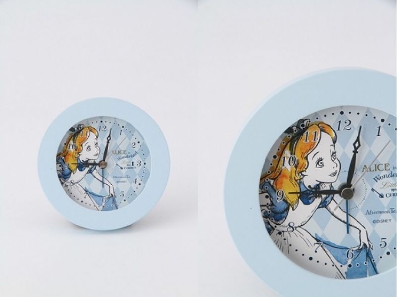 ALICE夢境鬧鐘(淺藍色),售價1580元