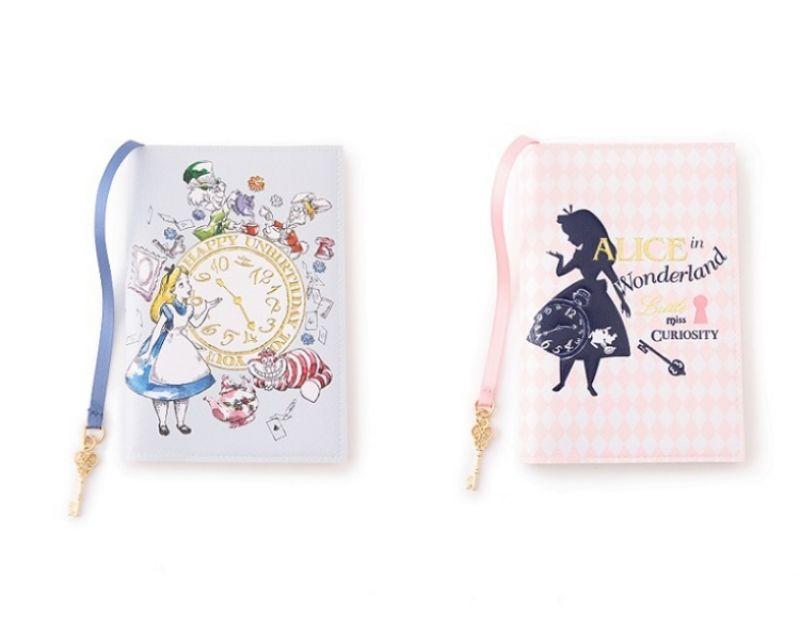 ALICE夢境A6行事曆(時鐘藍&剪影粉&剪影藍),售價 1200元