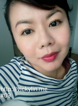 Vicky紐約普普花染唇釉試色#03