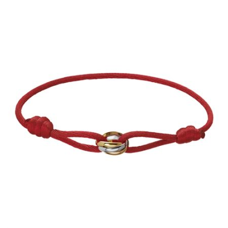 CARTIER Trinity絲繩手環