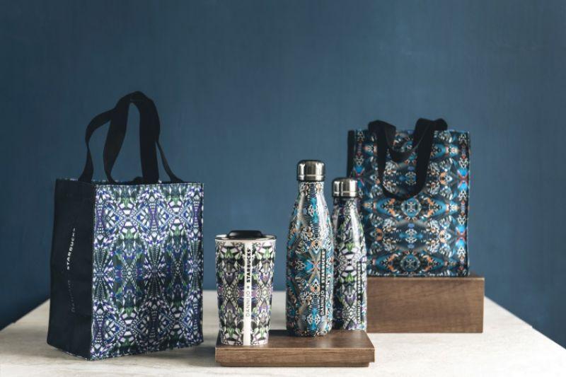 統一星巴克攜手紐約首飾品牌DANNIJO,於9月1日推出系列聯名商品