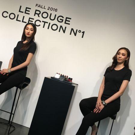 Chanel2016秋妝以「紅色力量」為主題,示範不同風格的紅色妝容。