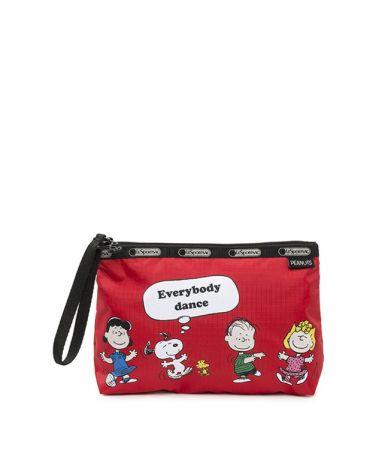 紅色Snoopy好朋友手拿包NT1800