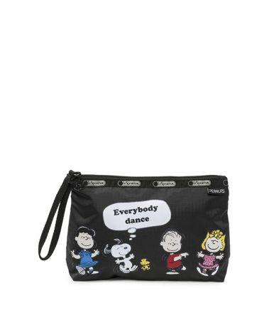 黑色Snoopy好朋友手拿包NT1800