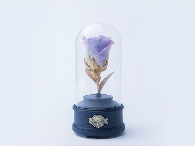 以玫瑰花做成的永生花永不凋謝,也象徵愛情的長久。