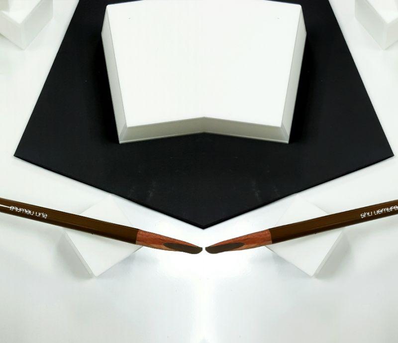 shu uemura武士刀眉筆(H9)胡桃棕07,NT770