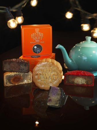 TWG Tea茗茶傳統月餅,單入茗茶月餅禮盒,建議售價NTD 380元