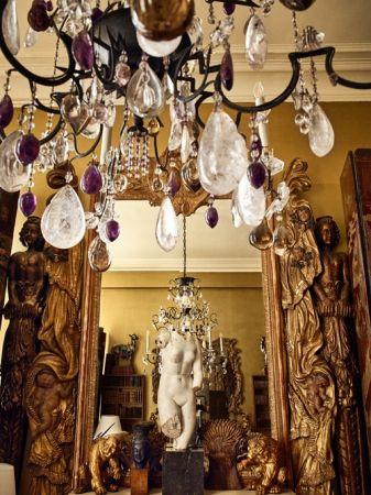 在香奈兒女士的巴黎康朋寓所,可見黃金色麥穗的裝飾蹤跡。