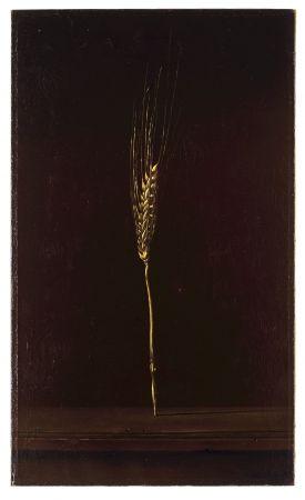 巴黎康朋寓所裡,黃金色麥穗的裝飾蹤跡。此為Salvador Dali 的畫作