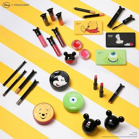 THE FACE SHOP DISNEY collection 預計9/29開賣。