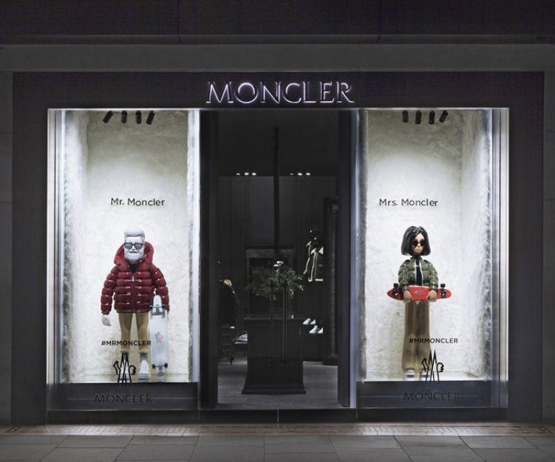 Mr. / Mrs. Moncler 全球專賣店趣味櫥窗