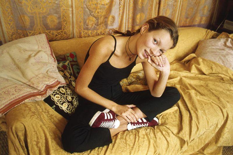 Kate Moss 1993年所拍攝的形象