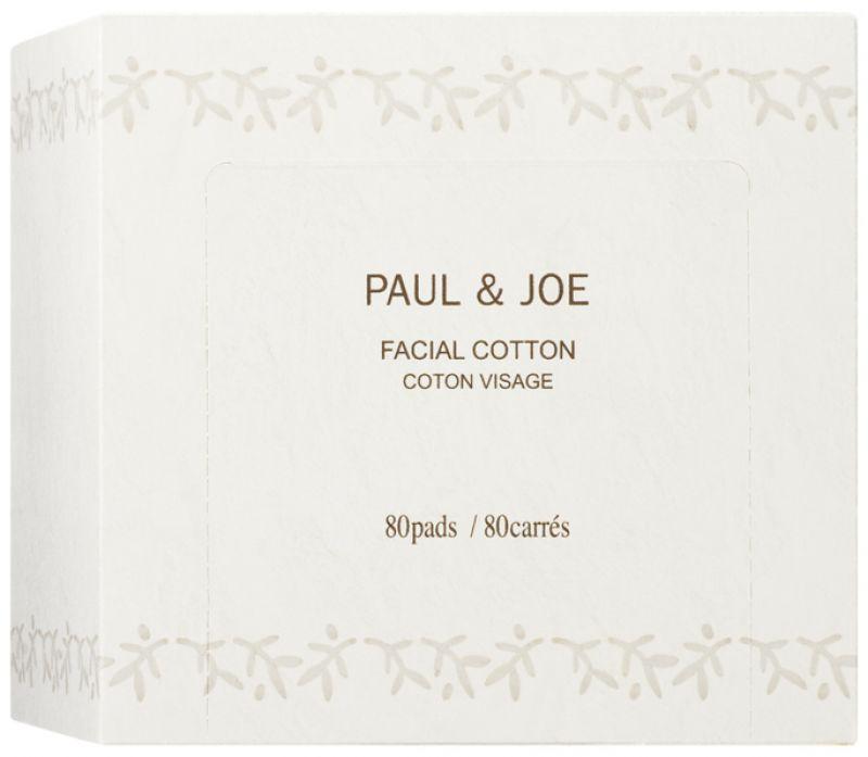 Paul & Joe柔軟化妝棉,80片,NT240。最外層的兩面,使用長纖維的材質,減少與皮膚的磨擦,而內部的軟纖維層,則可達到彈性的效果,即使與油質一併使用時,也不會瓦解或分離。