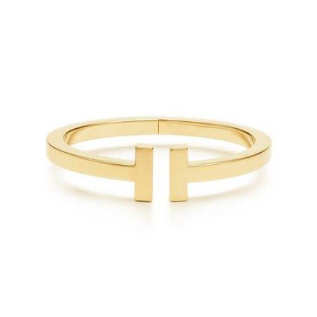 Tiffany T Square 18K金手鐲 (Lupita Nyong'o配戴款)