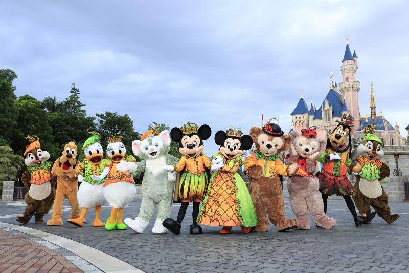 米奇與眾好友換上萬聖節新裝投入日間Halloween派對