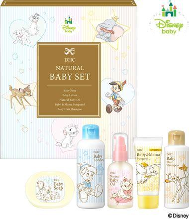 DHC迪士尼聯名嬰兒禮盒。