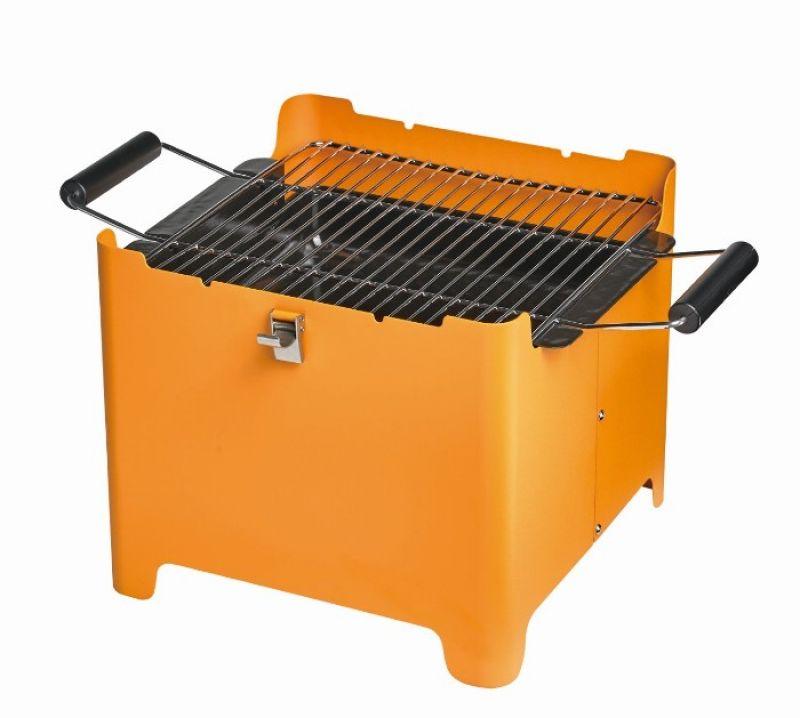 好收納好生火,烤網兩側附把手,上下蓋具卡扣功能,tepro長方形碳烤爐(特力屋,1690元)