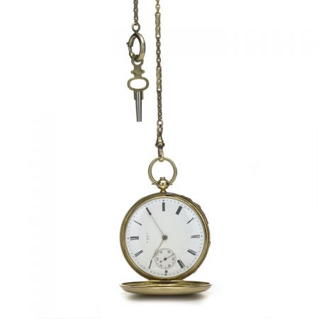 Tiffany 獵錶殼懷錶(1849)