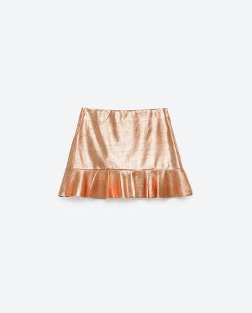 金屬荷花裙 NT1190
