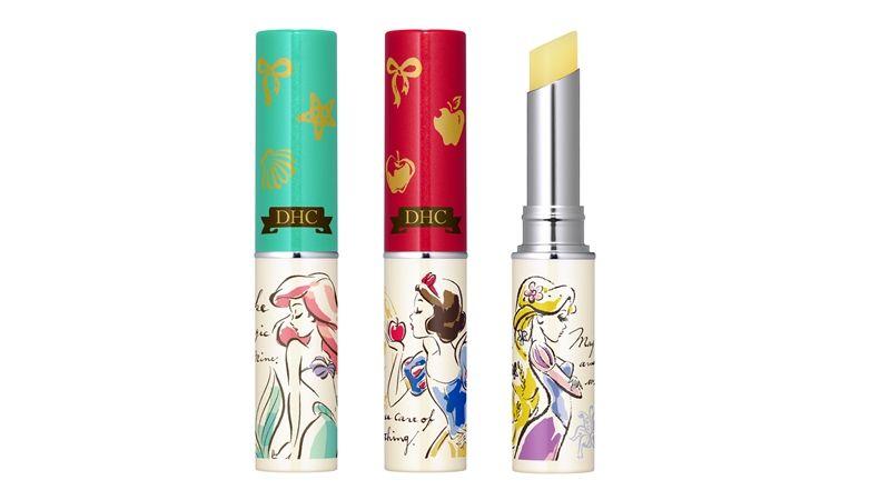 DHC迪士尼公主系列第一波推出的護唇膏。