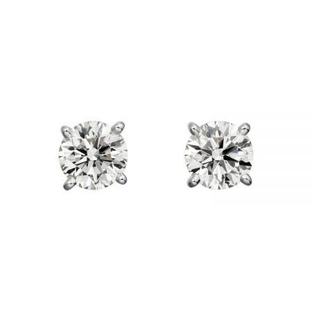 Cartier 1895系列頂級珠寶鑽石耳環
