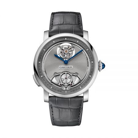 卡地亞Rotonde de Cartier三問浮動式陀飛輪腕錶