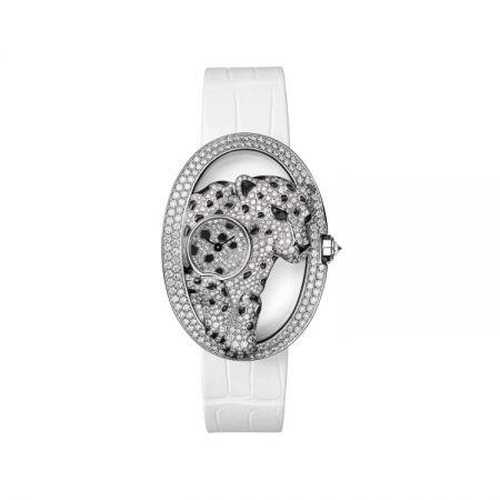 卡地亞Panthère Ajourée de Cartier美洲豹腕錶