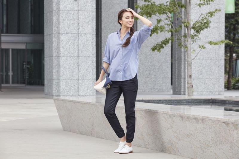 街頭潮流_UNIQLO女裝牛仔束口褲 售價NT$990