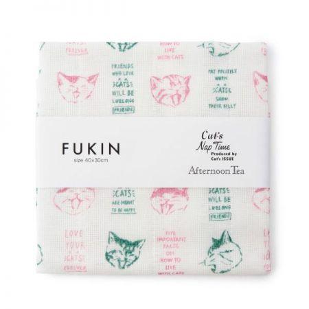 慵懶貓咪蚊帳抹布,250元