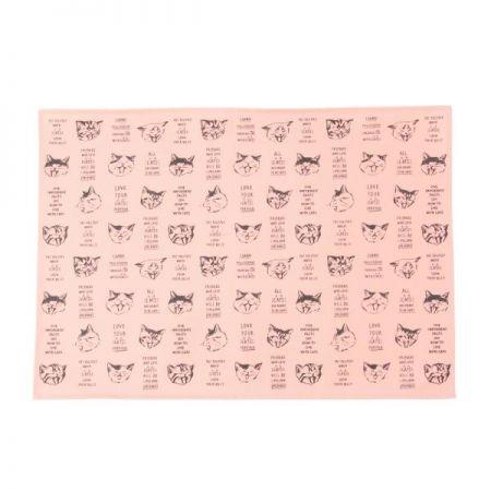 慵懶貓咪防汙餐墊,350元