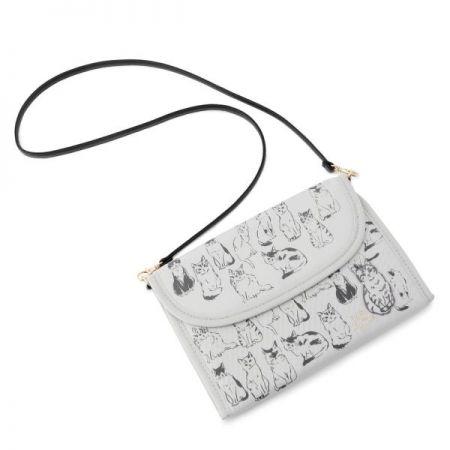 慵懶貓咪媽咪手冊收納包,1280元