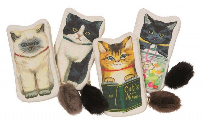懶貓咪化妝包,980元