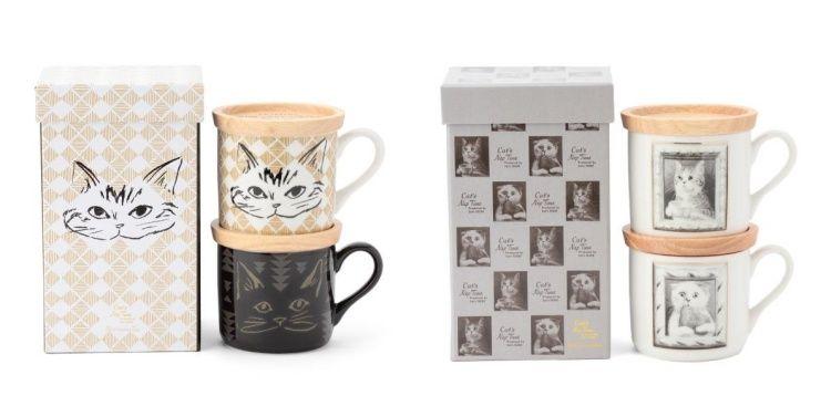 慵懶貓咪雙人馬克杯組,1280元