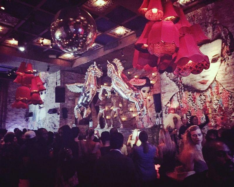 美國雜誌IRIS covet book在知名餐廳TAO舉辦時尚party